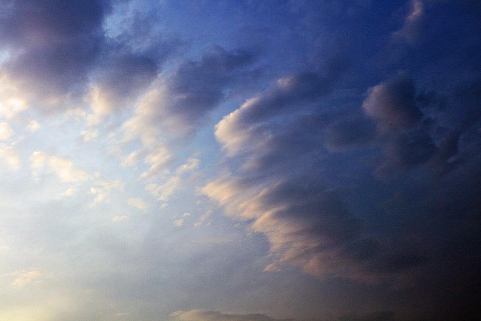 やさしい光、やわらかい雲 #1