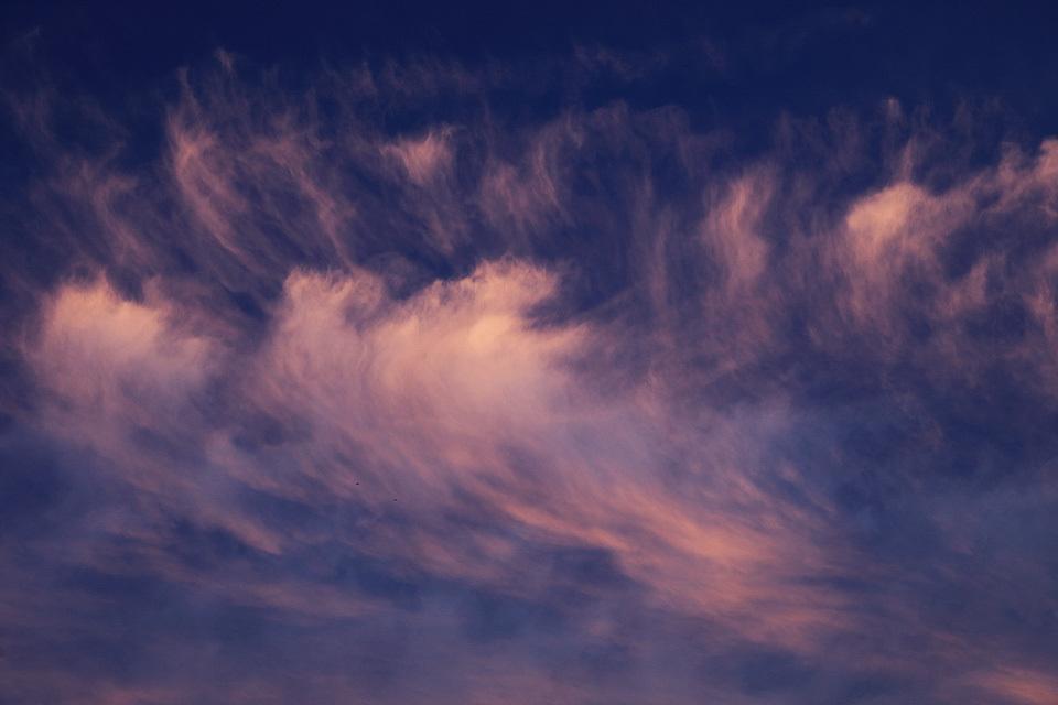 夕映えの尾流雲群 #3