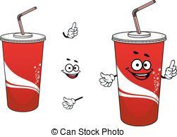 コーラ-あるいは-ソーダ-漫画-特徴-epsベクター_csp26609289