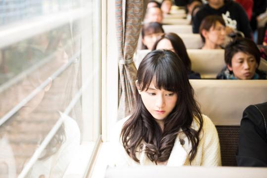 名古屋行き最終列車 鉄道 松井玲奈 3 済み