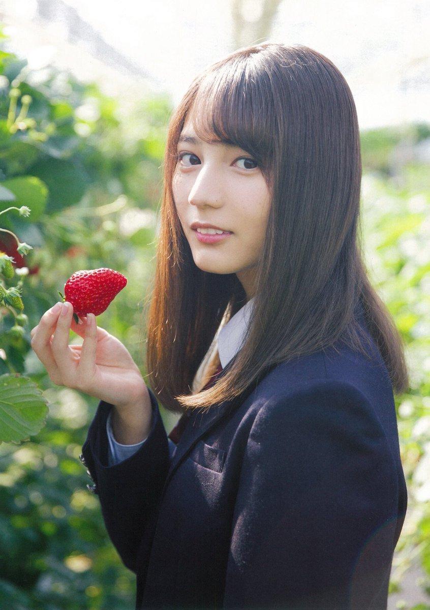小坂菜緒 2021 済み 春の風景 苺