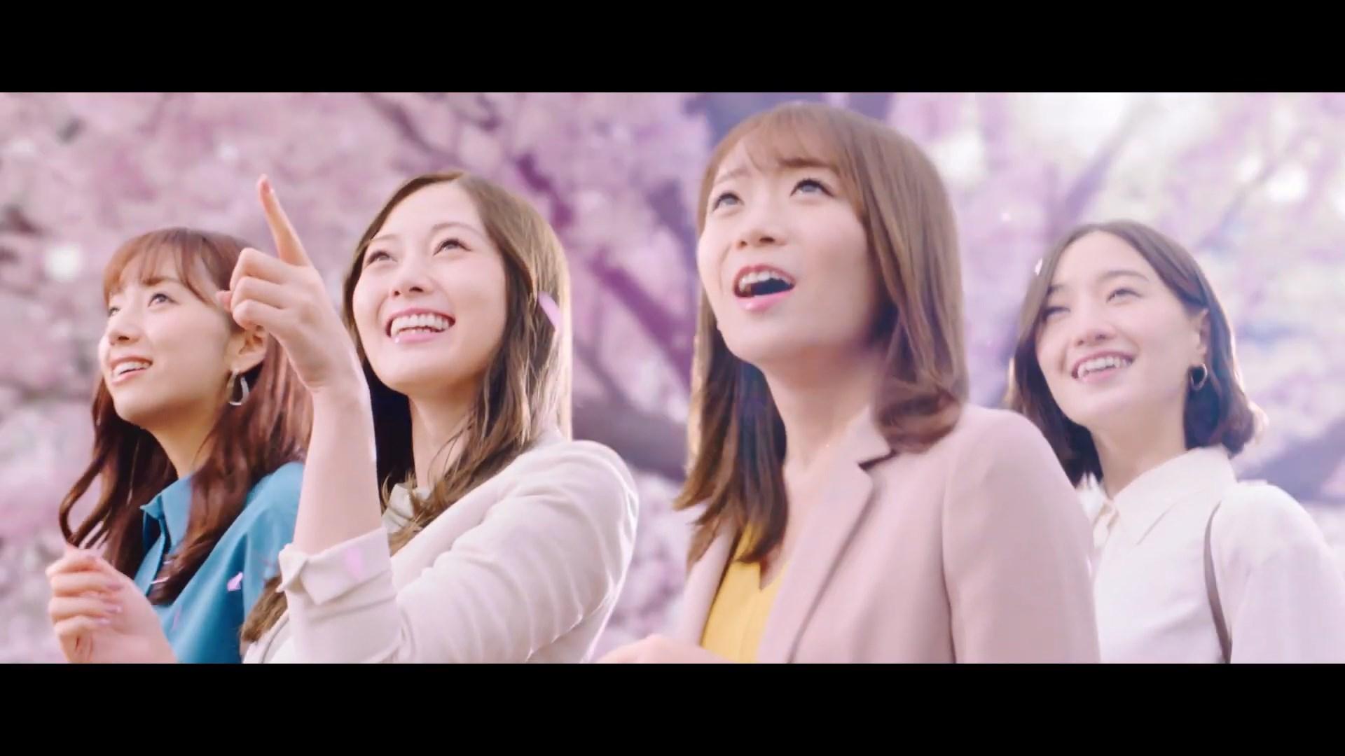 白石麻衣 西野七瀬 2021 済み 桜 5