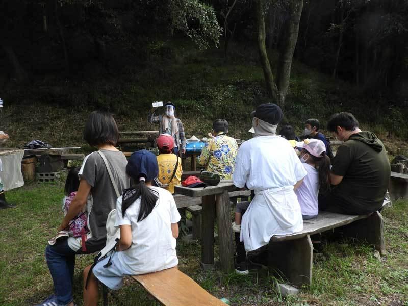 池田自然観察会風景