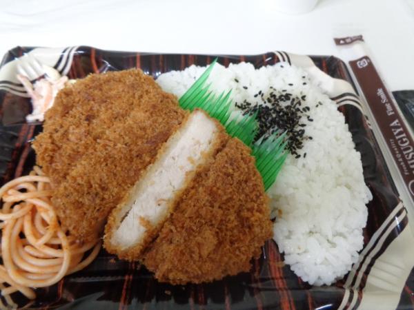 7/28 ミスギヤ・トンカツ弁当