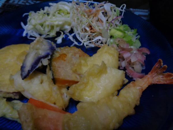 8/16 家食・天ぷら素麺