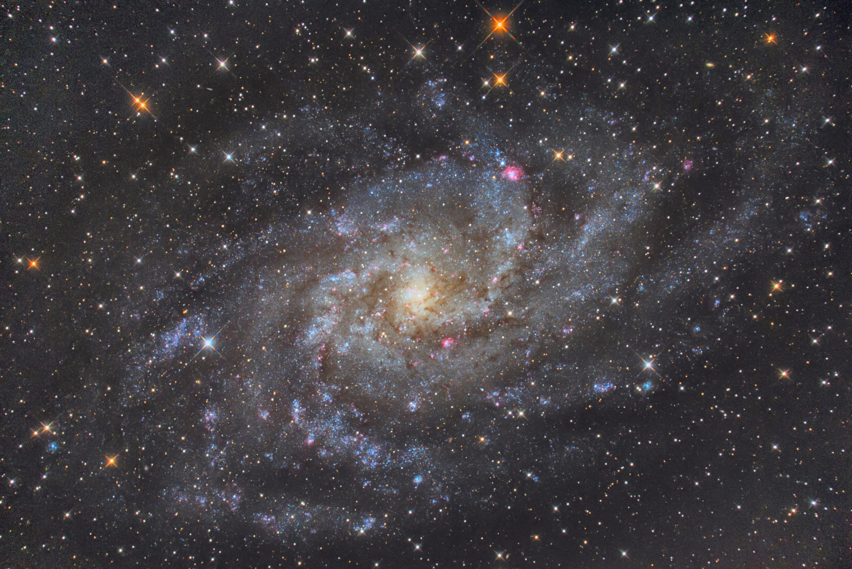 20191228 大芦高原 M33 μ250 EOS6DN iso3200 300s c33 PI