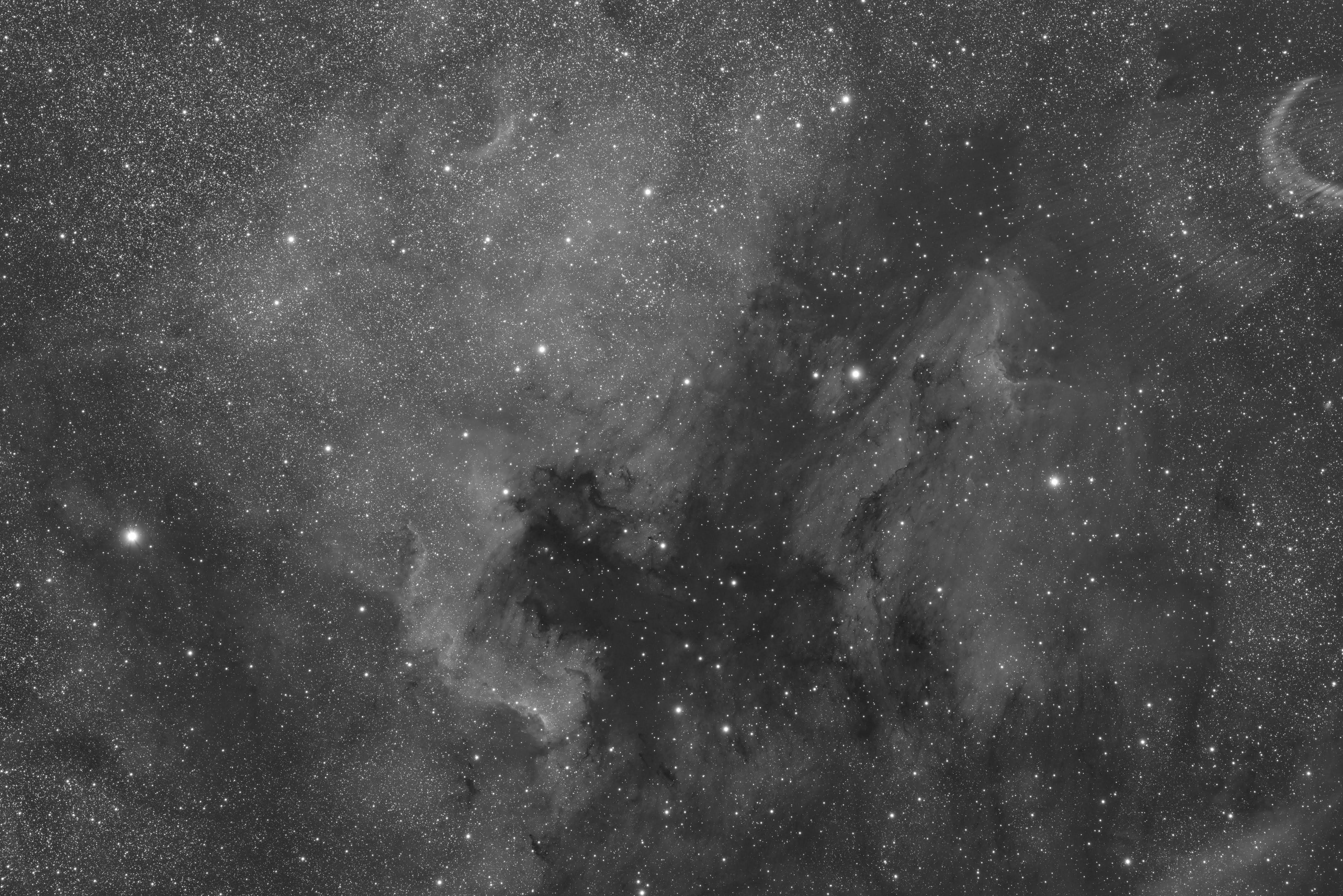 20200528 大塔 アメペリ星雲 FSQ106 6200MM2 gain100 300s L c21 DG