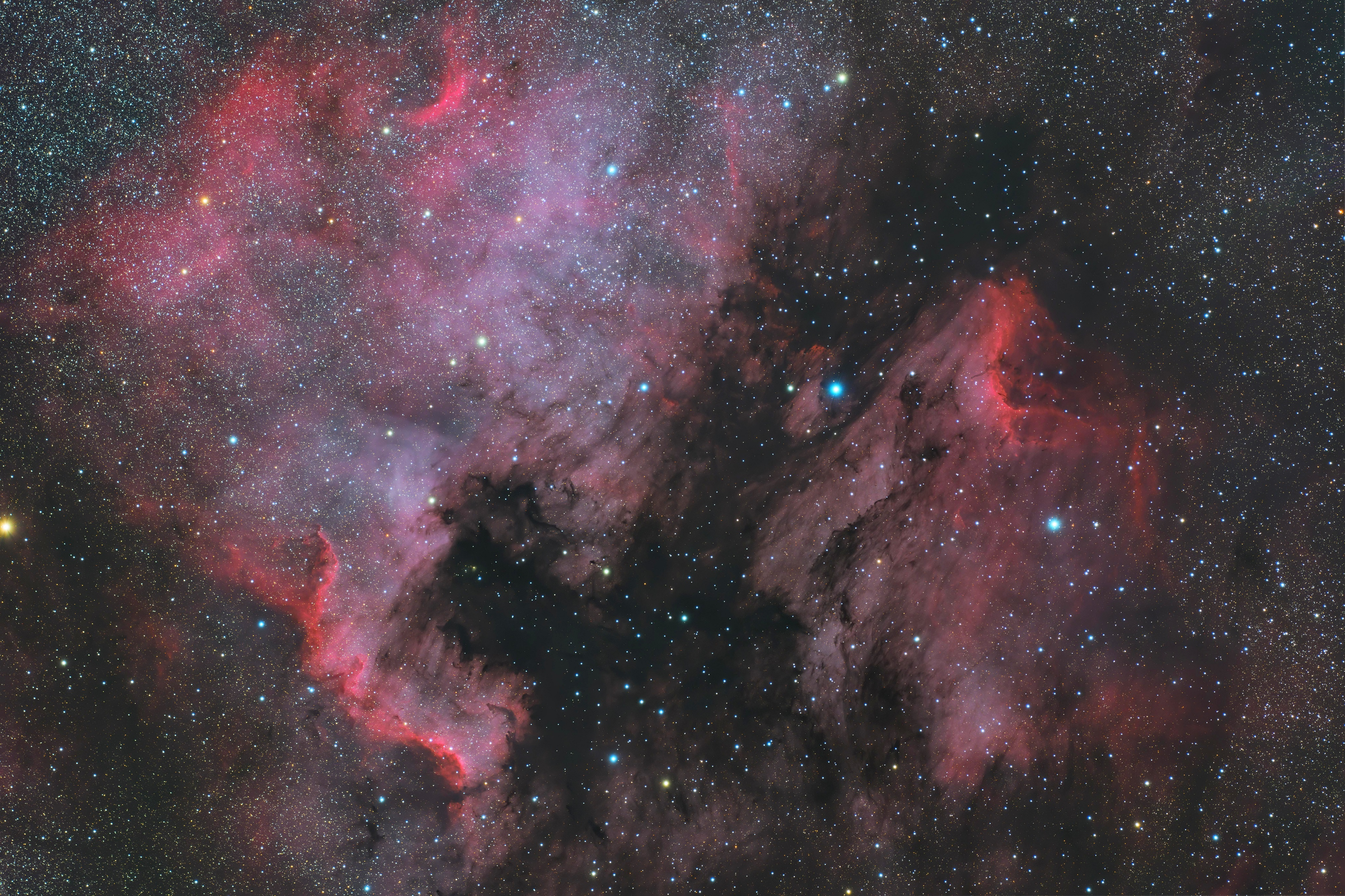 20200528_0701 アメペリ星雲 FSQ106 6200MM Twin RGB_AOO 48