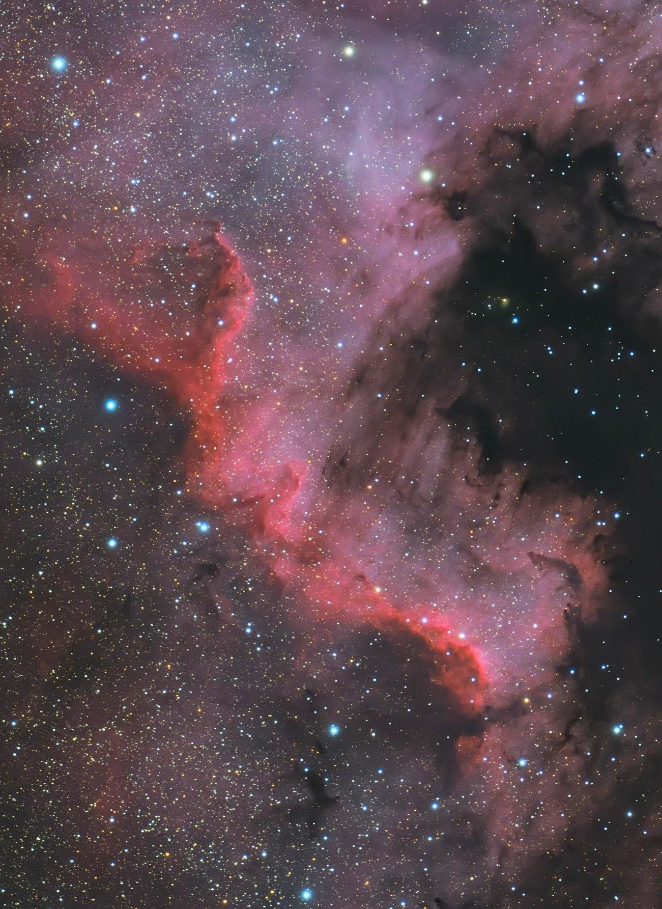 20200528_0701 アメペリ星雲 FSQ106 6200MM Twin RGB_AOO M-30