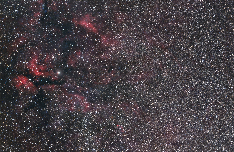 saddle redcat51 2400MC _ EOS6D starnet