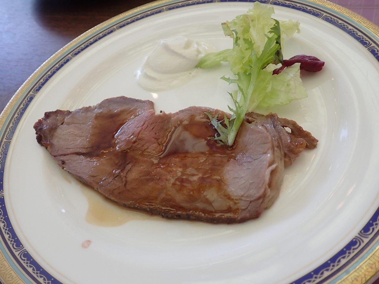 アメリカンビーフロースト肉のロースト