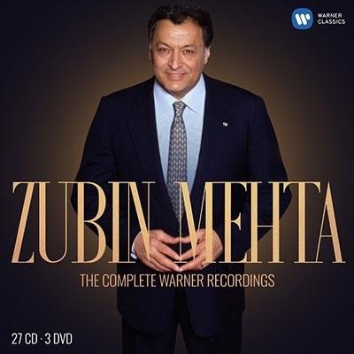 ズービン・メータ ワーナー録音全集【激安27CD_3DVD】Zubin Mehta The Complete Warner Recordings