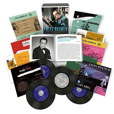 フリッツ・ライナー コンプリート・コロンビア・アルバム・コレクション【激安14CD-BOX】Fritz Reiner The Complete Columbia Album Collection