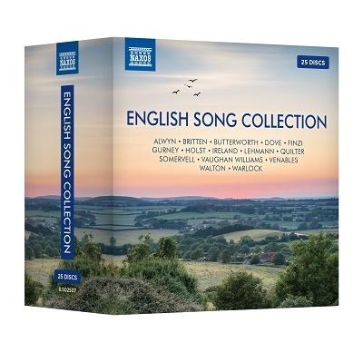 【ナクソス名盤】英国歌曲コレクション【激安25CD-BOX】English Song Collection 25CD