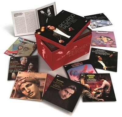 【激安91CD-BOX】リッカルド・ムーティ ワーナー・シンフォニック・レコーディング全集Riccardo Muti The Complete Warner Symphonic Recordings