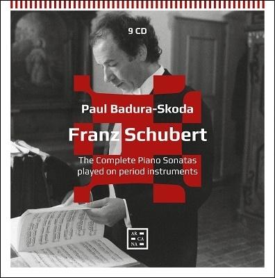 パウル・バドゥラ=スコダ(forte piano) シューベルト ピアノ・ソナタ全集【激安9CD-BOX】Paul Badura-Skoda Schubert The Complete Piano Sonatas