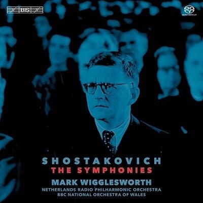 マーク・ウィッグレスワース ショスタコーヴィチ交響曲全集【激安10SACD】Mark Wigglesworth Shostakovich The Symphonies