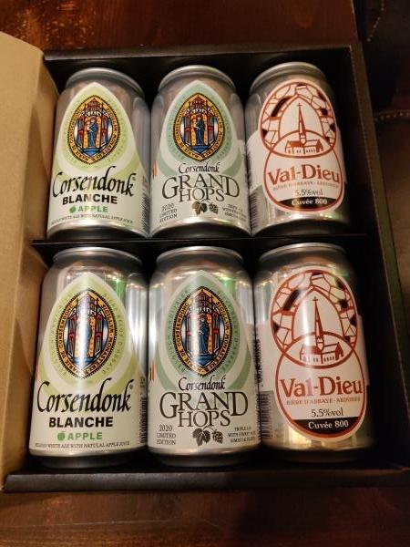 ベルギービール缶6本