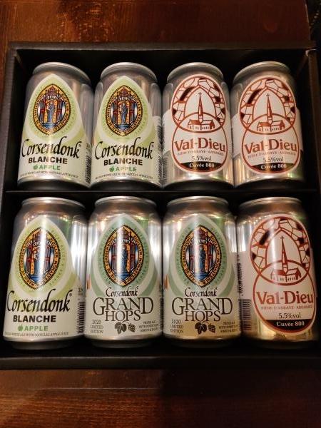ベルギービール缶8本