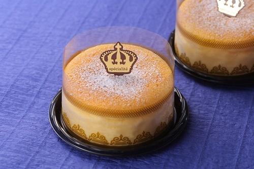 オランダ産ゴーダチーズのスフレケーキ