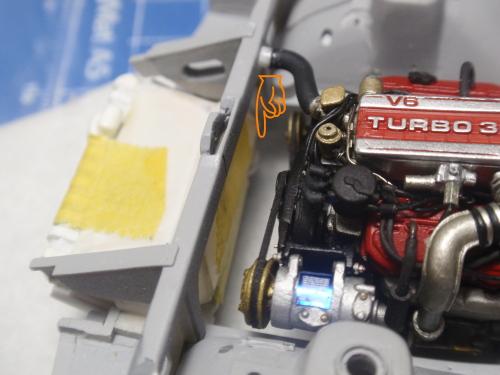 エンジン補機修整