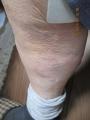 s-704銃後の右足