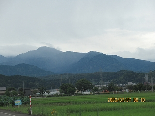 s-727飛越の山々