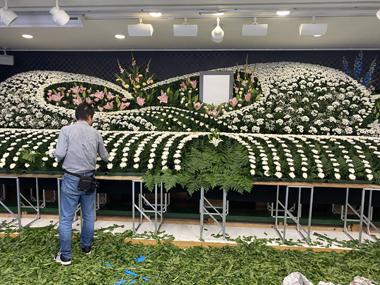 花祭壇 葬儀 葬祭会館 家族葬 ベルホールみやび 高齢化社会 人口減少 コロナ禍