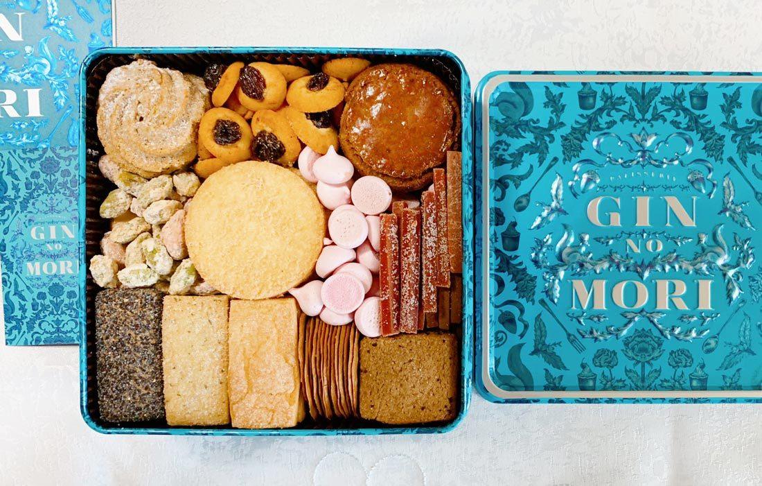恵那 銀の森 クッキー缶