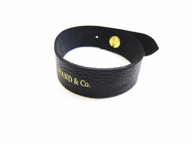 GLAD HAND LEATHER BRACELET