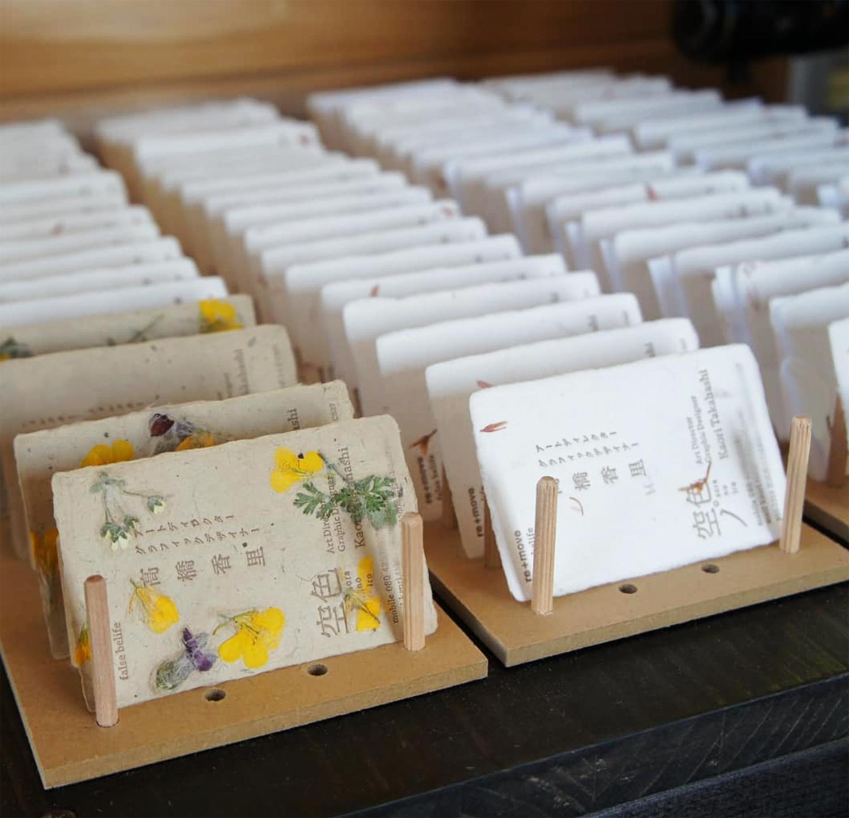 お持ち込み和紙で活版印刷体験ワークショップ3