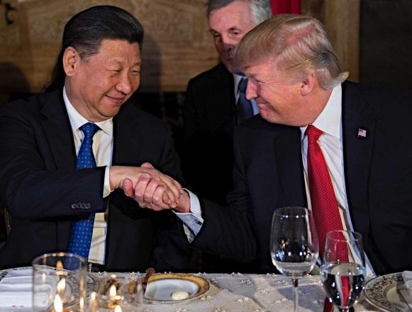 2017年4月初めの米支首脳会談で、習近平がトランプ大統領に「朝鮮(韓国)は、実はかつて中国の一部だった」と話した