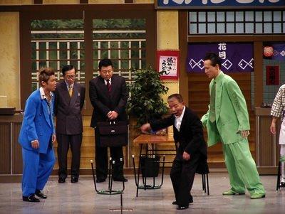 吉本新喜劇の池乃めだかのギャグに、喧嘩でボコボコにやられた後、「よっしゃ、今日はこれぐらいにしといたるわ」というのがある。