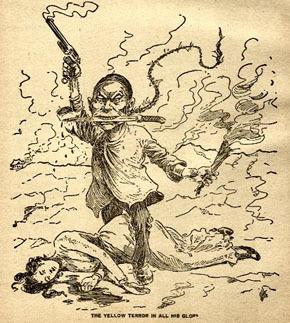 「義和団の乱」当時の西洋の風刺画