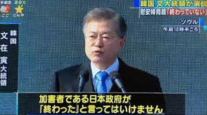 の文在寅が韓国大統領になってからは、さらに反日と反米が急加速した