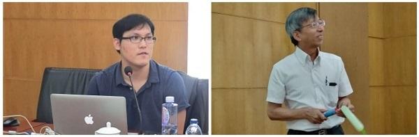 講演いただいた豊田先生(左)と土井先生(右)
