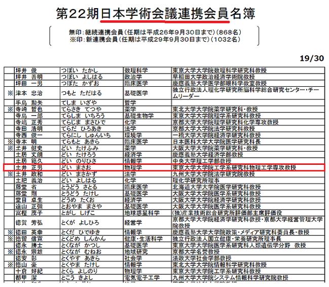 20201013日本学術会議「中国の軍事研究協力ない!千人計画関係ない」・福田敏男や土井正男が千人計画に参加