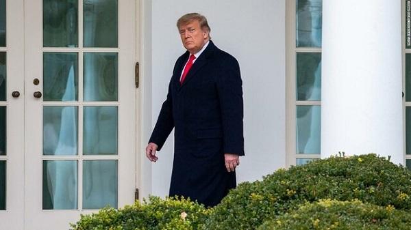 トランプ氏、上院共和党ナンバー2を「口撃」 任期終了迫り身内に矛先
