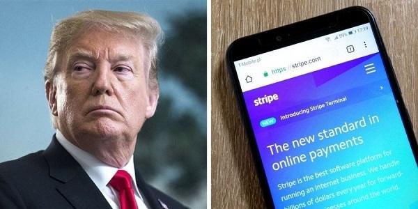 トランプキャンペーン支払い処理業者Stripeがトランプキャンペーンアカウントを停止し、資金決済を停止 2021.1.11