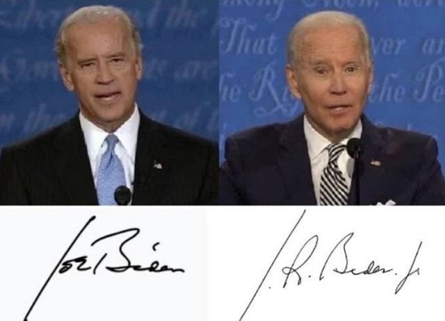 偽物(影武者・代役)バイデンは、あくまで偽物なので勿論サインも完全に偽物(無効)であり、これらの大統領令は将来すべて無効になる!