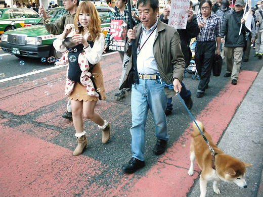20121118【日本破壊法案を推進する民主党をぶっ潰せ!集会&デモin渋谷】