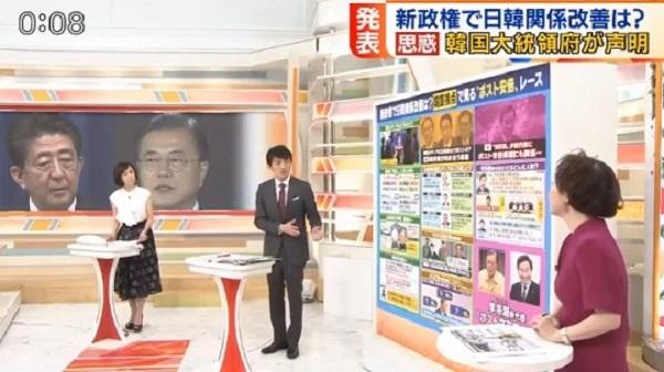 20200912金慶珠「安倍首相は韓国大統領とだけ応答なし」→小松アナ「文大統領が発信しなかったんですよね」