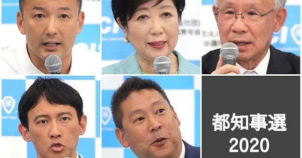 桜井誠 東京都知事選挙 2020
