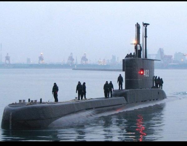 バリ島沖で潜水艦が沈没 隊員ら53人、消息を絶つ