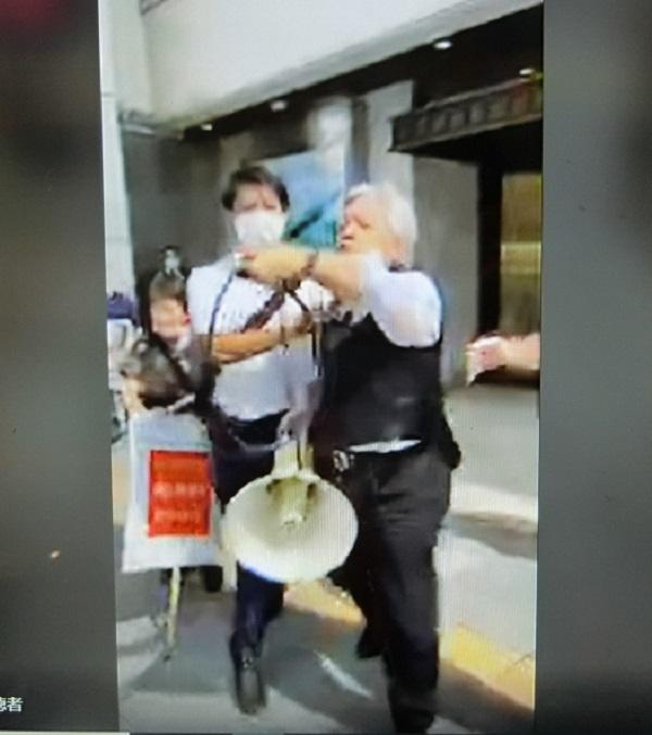 20200923動画■森晃の妨害行為と逮捕!高須克弥「大村知事支援者は盗聴、サイバー攻撃など悪事のオンパレ」