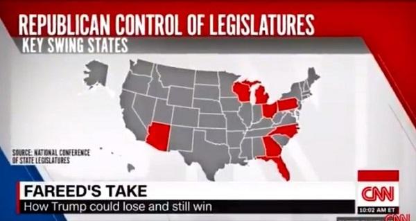 20201130NY知事がトランプ支持に寝返る!CNNもトランプ勝利の可能性を報道・激戦区6州の現状のまとめ