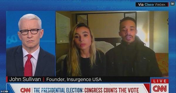 20210119下院議員の質問に全議員が沈黙!トランプ大統領の弾劾投票で・CNNが議会の突入し「やったぜ!」