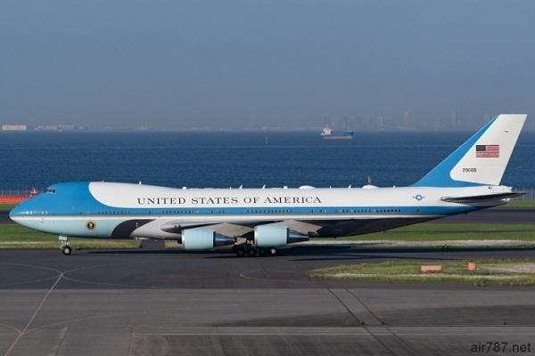 大統領専用機エアフォースワン(VC-25)