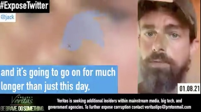 20210117ツイッターCEO「検閲を拡大継続する」!プロジェクトベリタスが内部告発者から動画を入手し公開