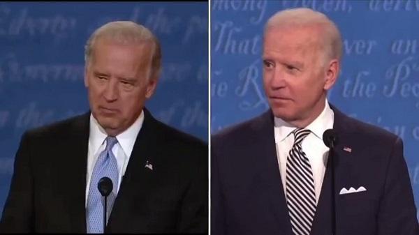 大統領選の際に選挙運動してたバイ伝は、人相のマイルドな方の代役ですよね(右側)。